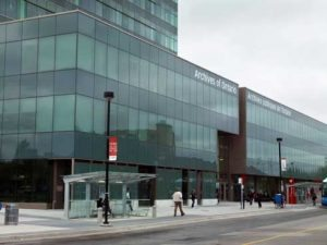 The Ontario Archives in Toronto
