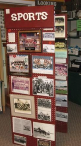 Arthur Historical Society Sport Photo Display