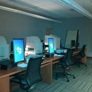 microfilm room