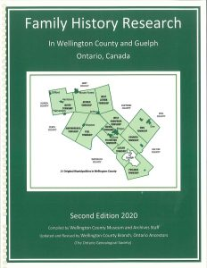 Cover of Family History Research in Wellington County book cover